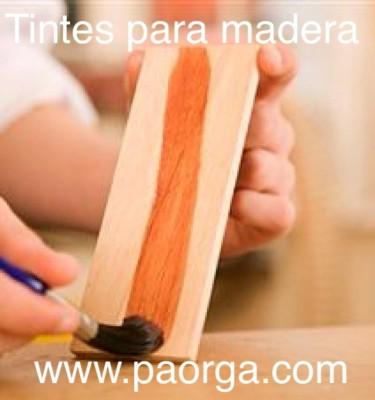 TINTES PARA MADERA