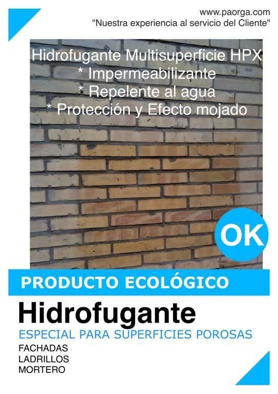 HIDROFUGANTES MULTISUPERFICIE