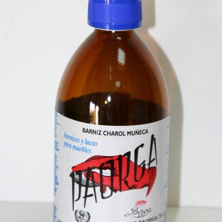 BARNICES AL ALCOHOL, GOMA LACA Y PRODUCTOS A LA CERA